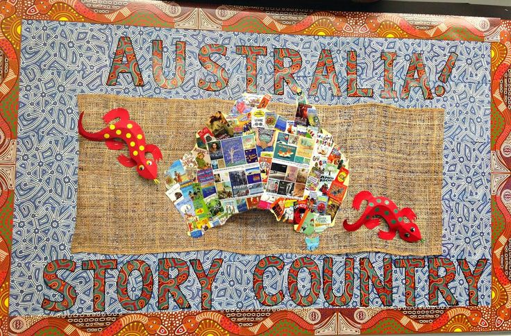 Library Displays: Australia! Story Country