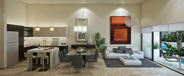 Amplios espacios con diseño y confort.
