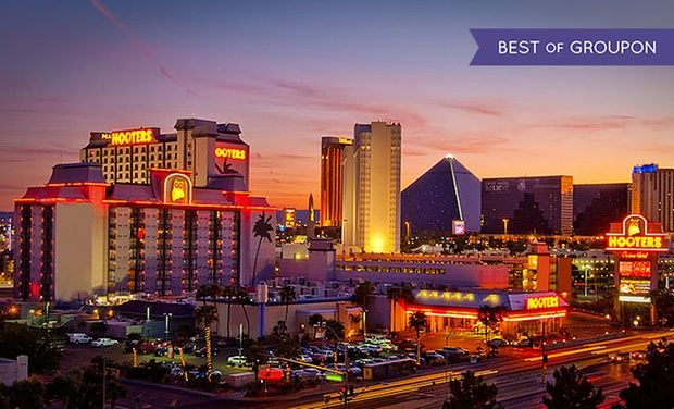 Hooters Casino Hotel - Vegas Strip: Stay with Breakfast and Two Cups of Coffee per Stay at Hooters Casino Hotel in Las Vegas. Dates into April.