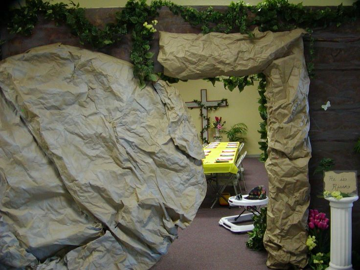 I Made A Tomb At Easter In 2011 All Of This Made Out Of