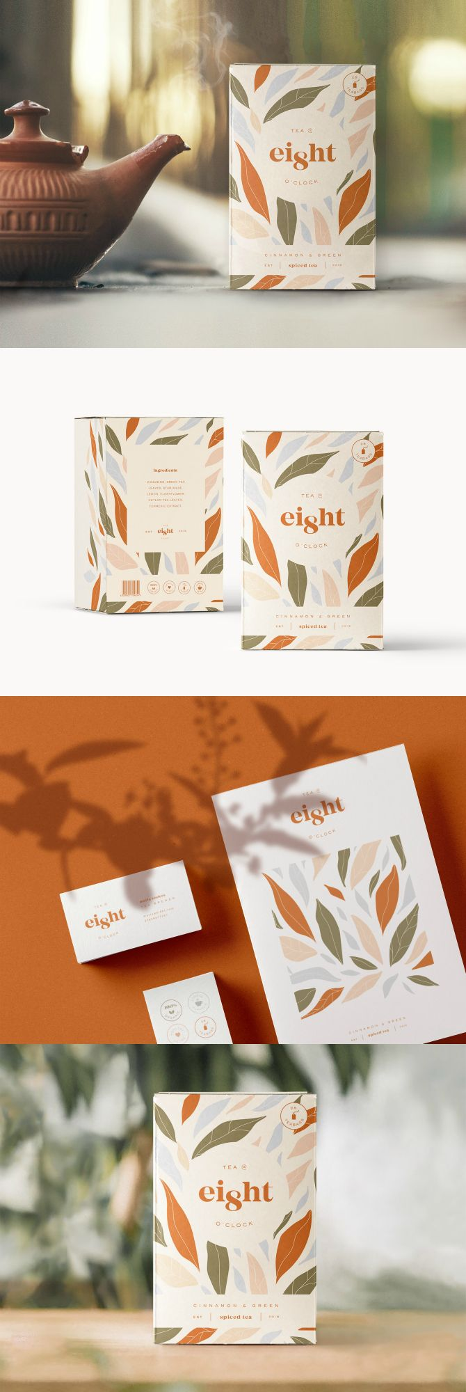 Organic Spiced Tea Branding and Packaging