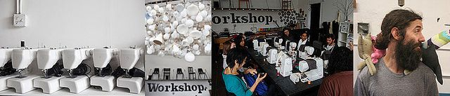 Workshopsf for courses on seeing- MIX UP AND USE FOR SEWING 101 ALSO by indiemart