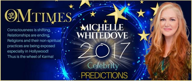 Celebrity Predictions for 2017 and beyond by Celebrity Psychic Medium Michelle Whitedove - giving insights on Love, Divorce, baby news and more for Adele,Leah Remini, Tom Cruise, Katie Holmes, Suri, Jamie Foxx, Nicole Kidman, Kardashians, Kim, Kanye, Pope Francis, Dalai Lama, Brad Pitt, Angelina Jolie