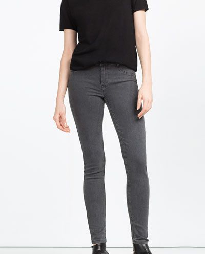 Grey jeggins Zara