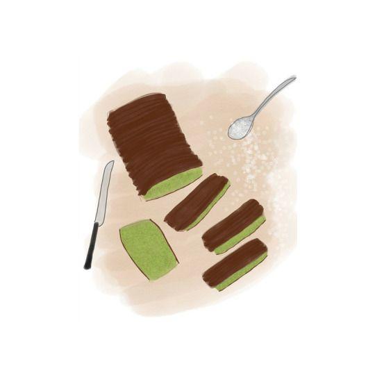 Matcha Castella (かすてら) cake  #greentea #cake #food #dessert