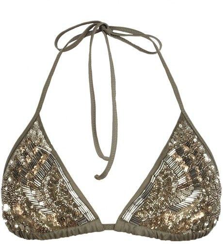 Gorgeous Bikini top...wonder what the bottom looks like tho...?