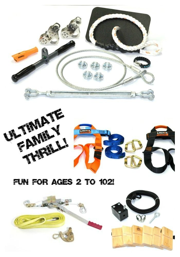 backyard zip lines ultimate family thrill zip line kit