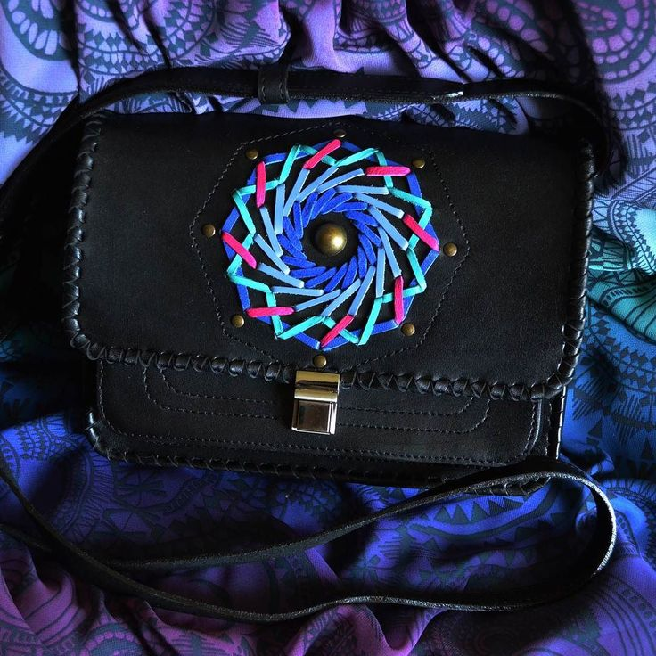 "Bag ""MANDALA"" IS AVAILABLE NOW!  Amandala is a spiritual and ritualsymbolinHinduismandBuddhism representing theuniverse.In common use ""mandala"" has become a generic term for any diagram chart or geometric pattern that represents thecosmos metaphysically or symbolically; amicrocosm of theuniverse./ Сумка ""МАНДАЛА"" ЕСТЬ В НАЛИЧИИ СЕЙЧАС!  Мандала - духовный и ритуальный символ в индуизме и буддизме представляюший вселенную. В широком использовании ""мандала"" стала общим обозначением для любой…"