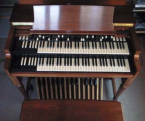 Hammond Organ! If they weren't so expensive i suggest my boyfriend gets one in his band pronto!