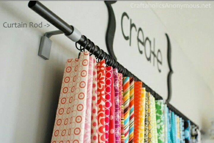 Idea per penjar bufandes