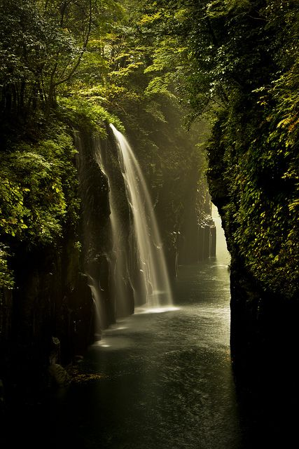 Beautiful gorge Takachiho, Miyazaki, Japan
