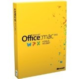 Office for Mac 2011 Home & Student -Family Pack (3Macs/3User) [Old Version] (Software)By Microsoft Software