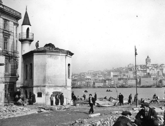 Eminönü Balıkpazarı İskele Mescidi, (1938)