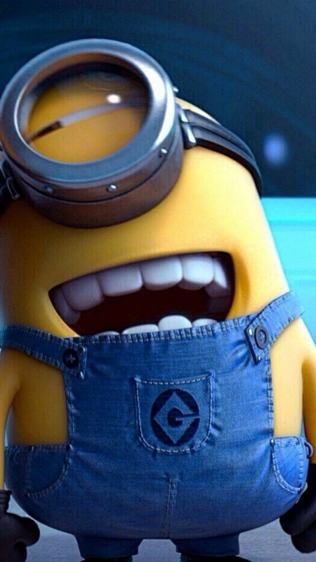 Funny Movie Cartoon Minion #iPhone #5s #wallpaper