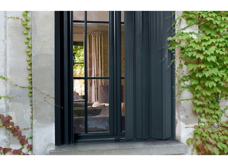 Persiennes pliantes aluminium - Fenêtres