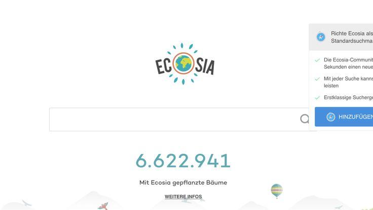 Welche #Suchmaschine soll man als guter Mensch benutzen? #Google oder #Ecosia ? #gutmensch #fair #blog #umwelt