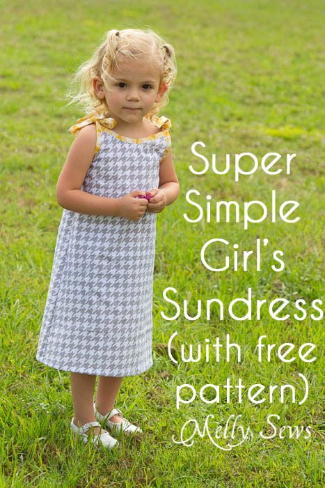 Simple long summer dress pattern