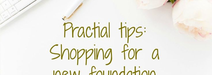 Make up and beautyHow to get free foundation for a month! {Tips: Shopping for foundation}