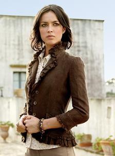 linen jacket, so elegant
