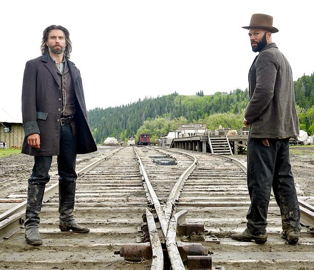 Anson Mount talks season 3 of 'Hell on Wheels,' another sad death, and Common's new nickname | EW.com