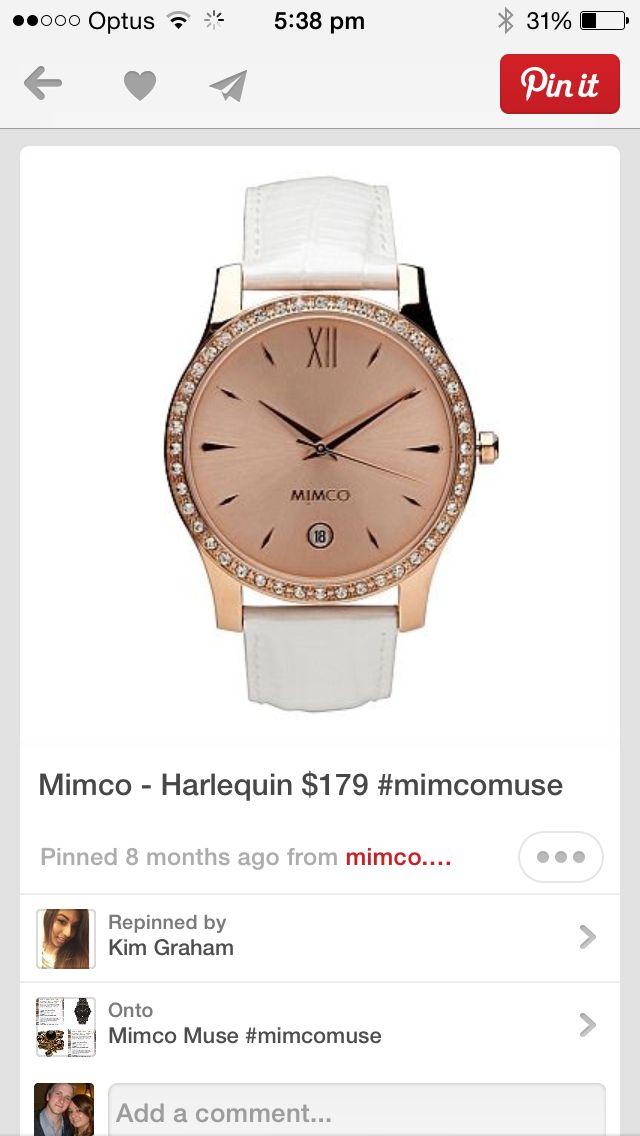 Mimco harlequin watch