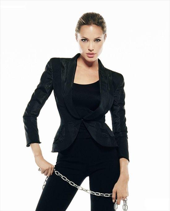 Анджелина Джоли - фотограф Джеймс Уайт