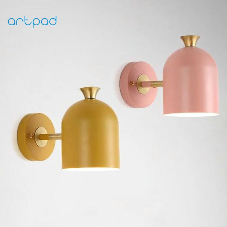 Artpad Nordic Wall Lamp Lampara de pared Home Bedside Living Room Balcony Aisle Decorative Wall Light Indoor Lighting 4 Colors-in Wall Lamps from Lights & Lighting on Aliexpress.com | Alibaba Group