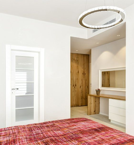 A bedroom with a sense of comfort and stability