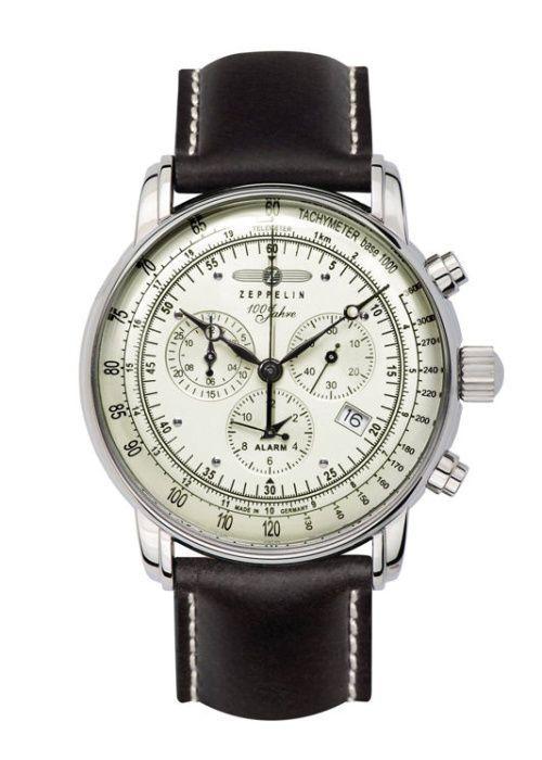 Luxusní pánské hodinky z kolekce na počest stému výročí Ferdinanda Grafa von Zeppelina - 100 Jahre Edition. Německá kvalita a preciznost ins