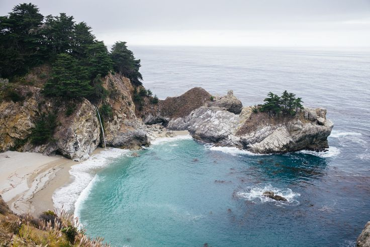 Gal Meets Glam Essential Guide to Big Sur California: McWay Waterfall Must See Photo Spot