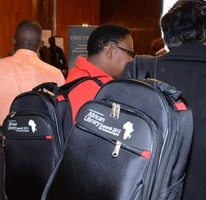 Africa Library Summit delegates bags