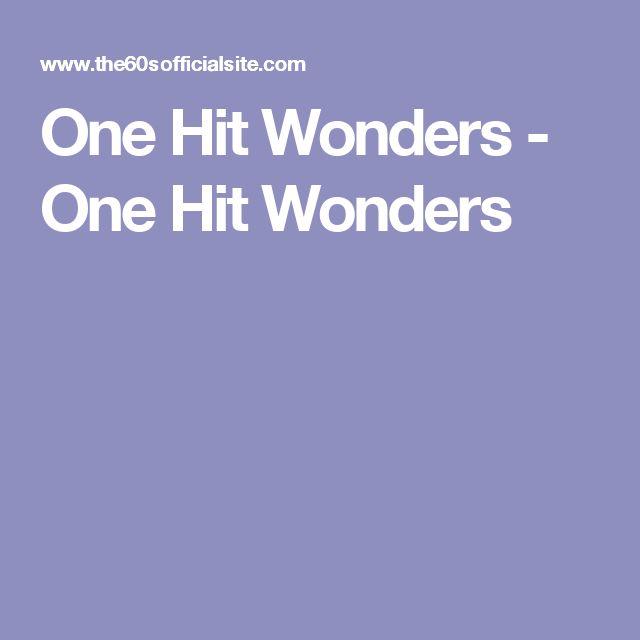 One Hit Wonders - One Hit Wonders