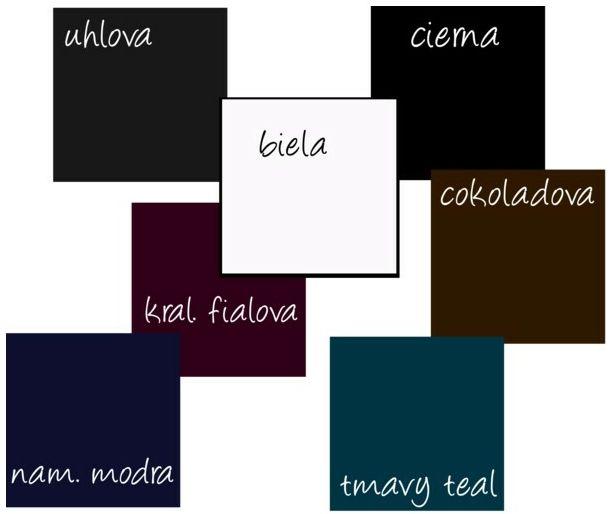 Farby - Neutrálne farby pre tmavý typ