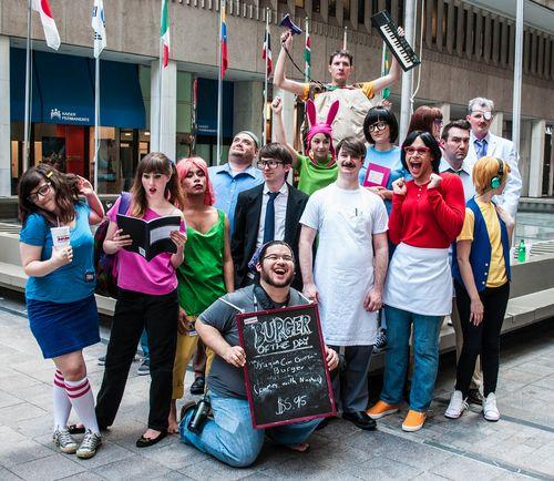 Perfect Bob's Burgers Cosplay - full cast