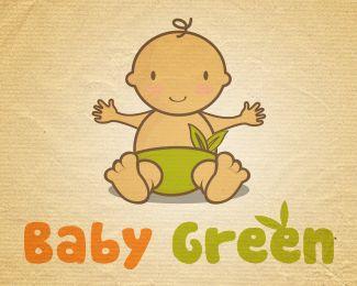 #logo #sale #logostore #readymade #baby #green #diaper