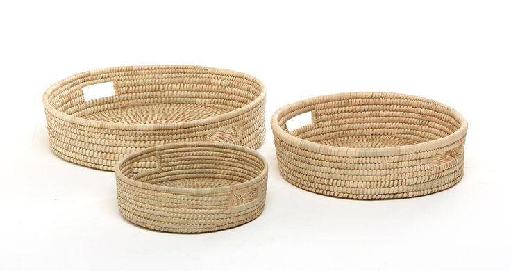 Set of trays | Baskets | ASHANTI