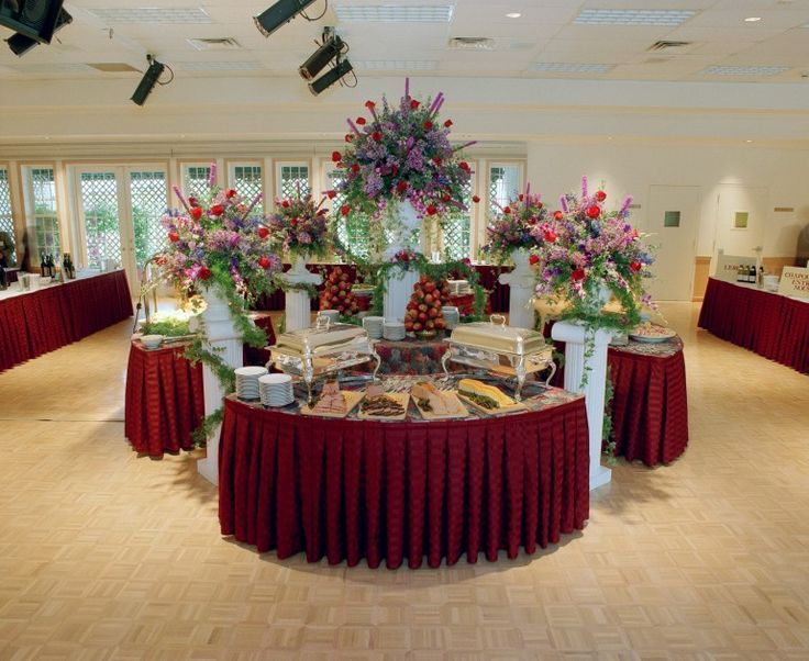 94 Best Images About Table Decor On Pinterest & Buffet Table Setting Arrangement - Castrophotos