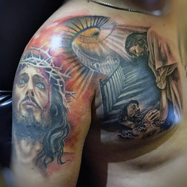 17 best ideas about stairway to heaven tattoo on pinterest for Stairway to heaven tattoo chest