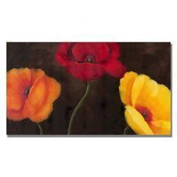 """The Poppy Feild, 1896"" by Pal Szinyei Merse Painting Print on Canvas   Wayfair"