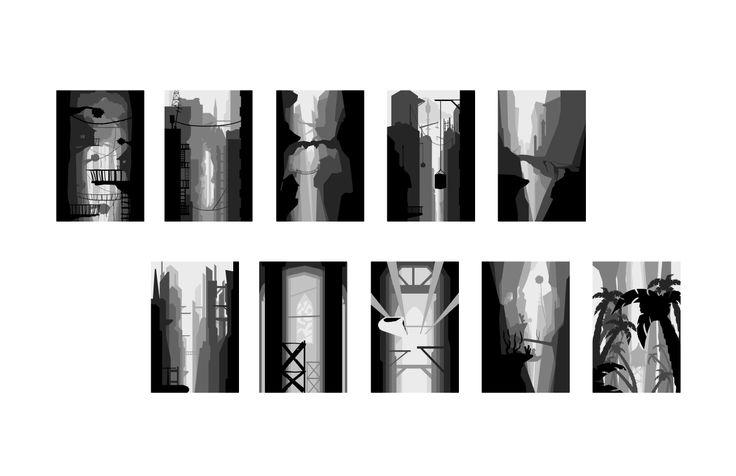 10 vertical landscapes