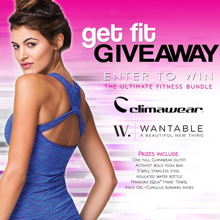 Enter to win the ultimate fitness bundle from Climawear and Wantable!