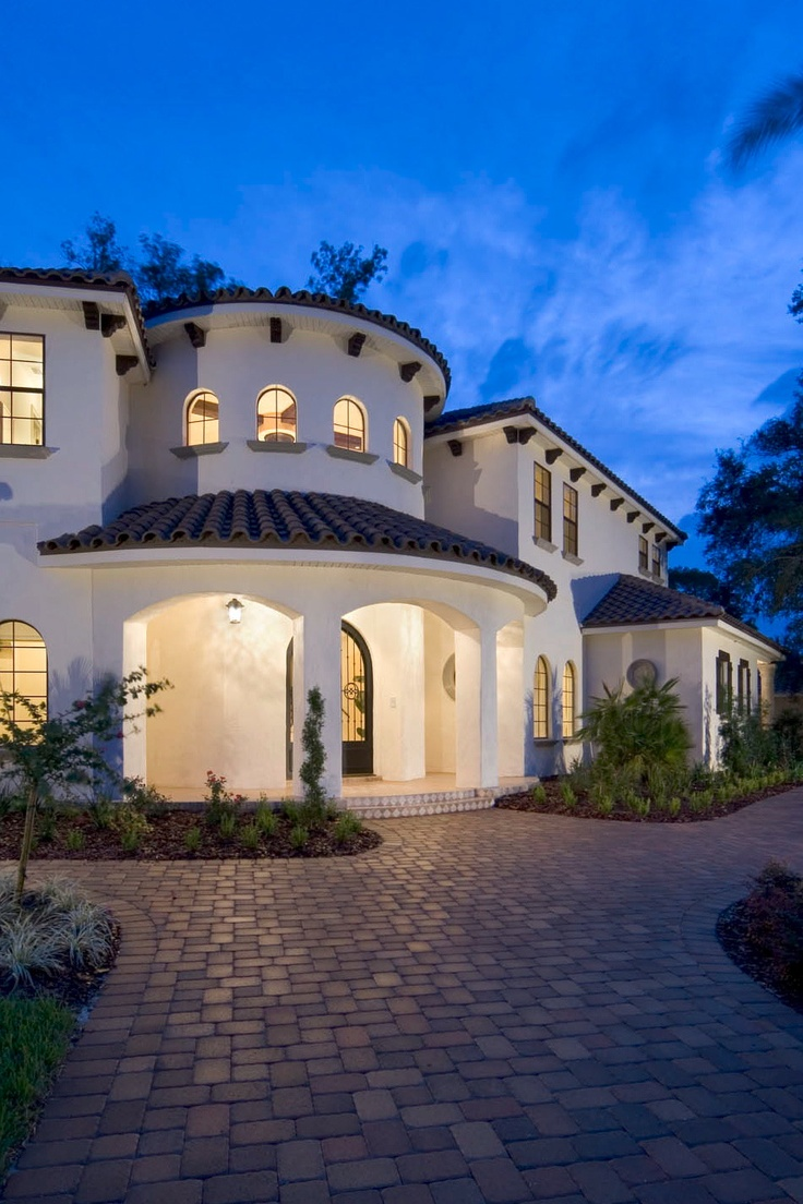 35 best front yard ideas images on pinterest courtyard for Architecture companies in florida