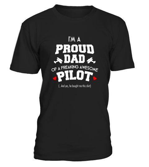 """# I'm a proud dad of an awesome Pilot T-Shirt .  Special Offer, not available in shops      Comes in a variety of styles and colours      Buy yours now before it is too late!      Secured payment via Visa / Mastercard / Amex / PayPal      How to place an order            Choose the model from the drop-down menu      Click on """"Buy it now""""      Choose the size and the quantity      Add your delivery address and bank details      And that's it!      Tags: This tee shirt has the following…"""