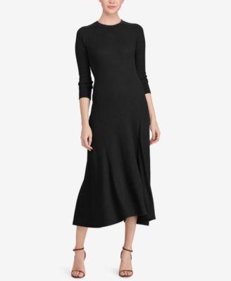 76dd5da290a28 Polo Ralph Lauren Fit   Flare Sweater Dress   macys.comThe Neo  Traditionalist.