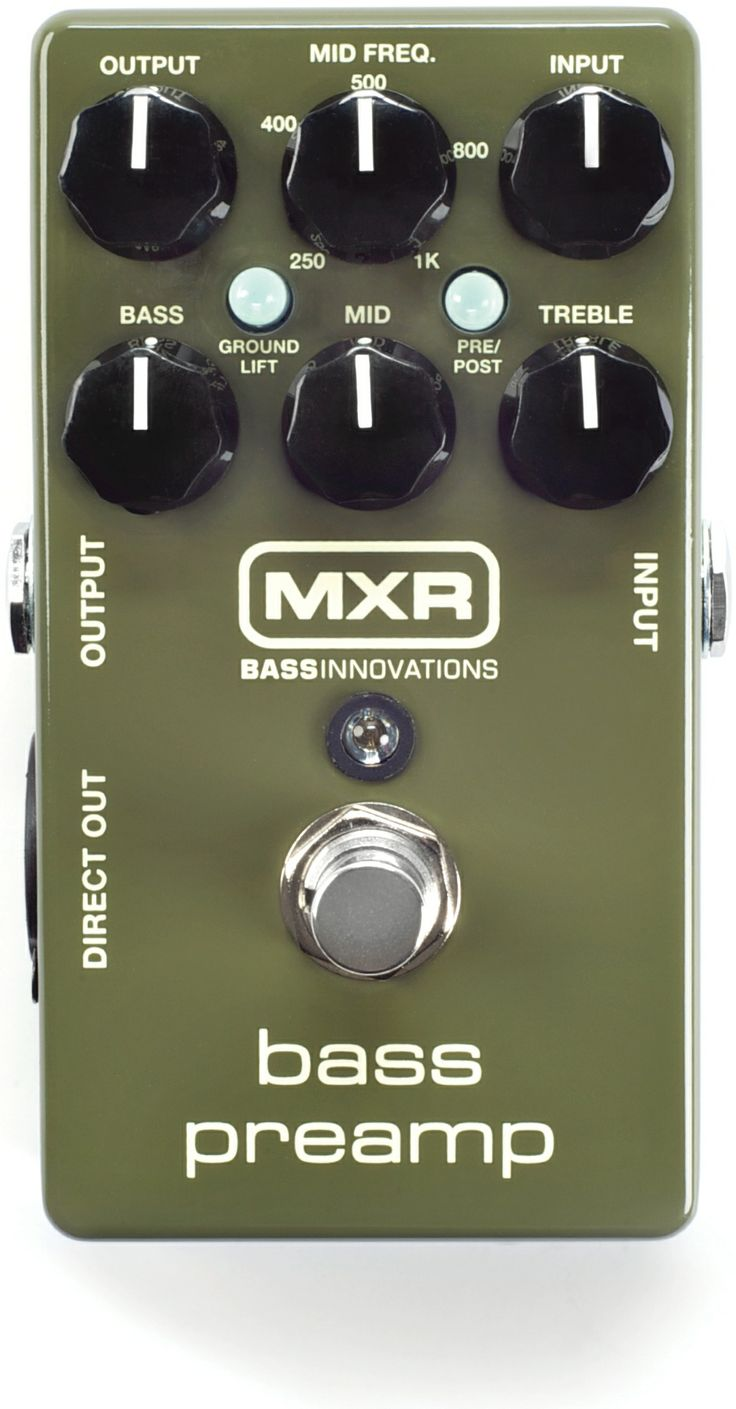 MXR M81 Bass Preamp Pedal | Sweetwater.com