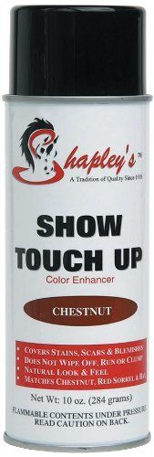 Shapley's Show Touch Up Color Enhancer Water Resistant Oil Based Chestnut 10 oz