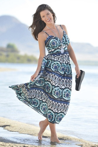 Printed Dress to wear during the day!