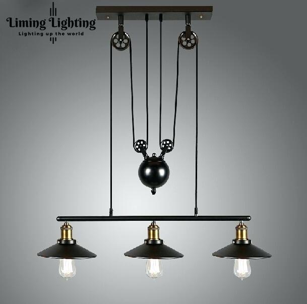 Lighting Fixtures Pulley Droplight