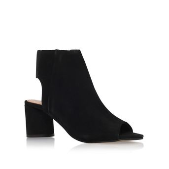 Raw Black Mid Heel Ankle Boots from KG Kurt Geiger