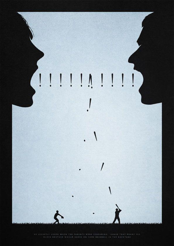 Best 25 Minimalist Artwork Ideas On Pinterest Kiss Art: minimalist typography